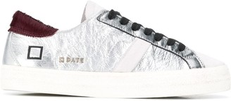 D.A.T.E Lace-Up Low-Top Sneakers