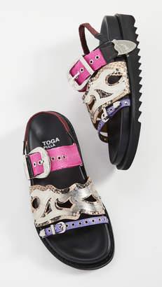 Toga Pulla Western Strap Sandals