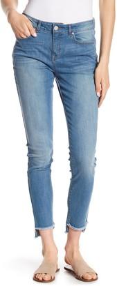 William Rast Perfect Step Hem Skinny Jeans