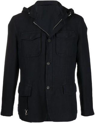 Eleventy Hooded Lightweight Jacket
