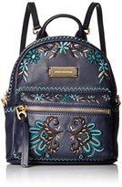 Juicy Couture Black Label Embroidered Paisley Mini Backpack