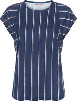 Jaeger Jersey Colour Block Stripe Top