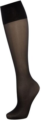Charnos 5 Per Packet Sheer Knee High Socks