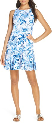 Tommy Bahama Indigo Garden Spa Dress