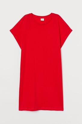 H&M Cotton T-shirt Dress