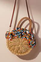 Anthropologie Kiran Straw Tote Bag