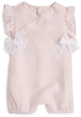 Il Gufo Linen Bow Bodysuit (3-18 Months)