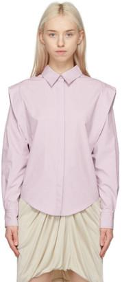 Isabel Marant Purple Kigalki Shirt