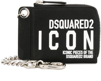 DSQUARED2 Chain Detail Logo Wallet