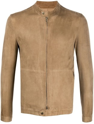 Salvatore Santoro Leather Zipped Jacket