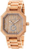 Earth Wood Acadia Unisex Brown Bracelet Watch-Ethew4701