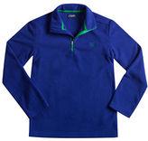 Chaps Half-Zip Fleece Pullover