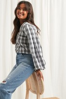 NA-KD Structure Check Blouse