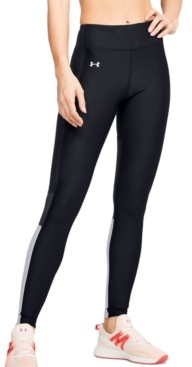 Under Armour Women's HeatGear Perforated Colorblocked Leggings