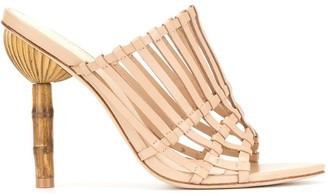 Cult Gaia Ark heeled mules