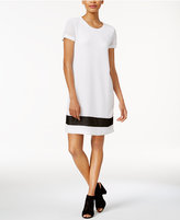 Bar III Textured T-Shirt Dress, Only at Macy's
