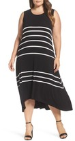 Vince Camuto Plus Size Women's Stripe Tank Dress