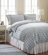 L.L. Bean Ultrasoft Comfort Flannel Comforter Cover, Plaid