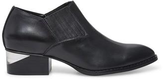 Steve Madden Barnett Black Leather