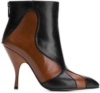 Bottega Veneta Moodec Flame booties