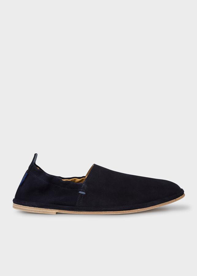 Paul Smith Men's Navy Suede 'Cornelius' Shoes