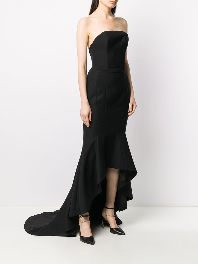 Thumbnail for your product : Alexandre Vauthier Strapless Design Gown