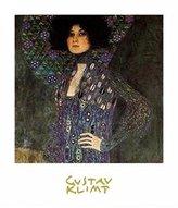 Gustav 1art1 Posters Klimt Poster Art Print - Emile Floge (28 x 20 inches)
