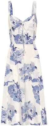 Polo Ralph Lauren Exclusive to Mytheresa Floral cotton midi dress
