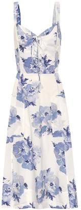Polo Ralph Lauren Exclusive to Mytheresa Floral cotton midi dress