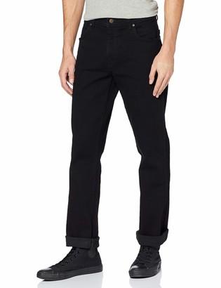Wrangler Men's Durable Regular Fit Straight Leg Jeans
