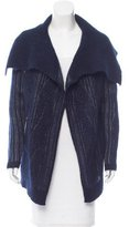 Yigal Azrouel Mohair-Blend Striped Cardigan