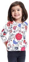 Old Navy Printed Fleece Crew-Neck Sweatshirt for Toddler