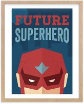 Pottery Barn Kids He's a Future Superhero Wall Art by Minted(R) 11x14