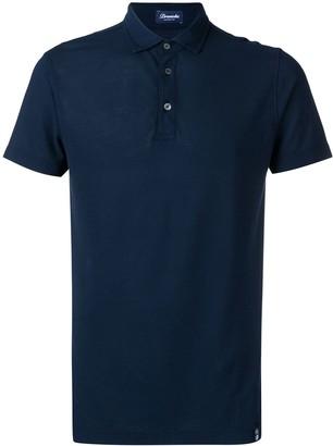 Drumohr navy polo shirt