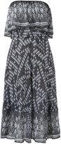 Cecilia Prado knit midi dress - women - Acrylic/Lurex/Viscose - P