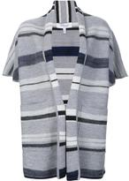 Derek Lam 10 Crosby shortsleeved blanket cardigan