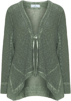 Inca Plus Size Woven cotton cardigan