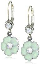 "Liz Palacios Crystales Opalos"" Small Flower Drop Earrings"