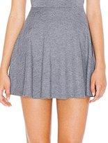 American Apparel Women's Ponte Sleeveless Skater Dress