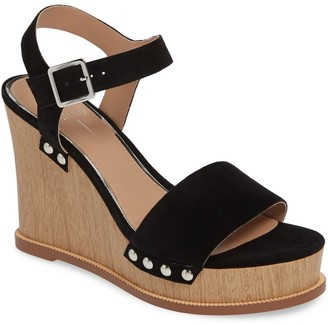 Linea Paolo Ellis Ankle Strap Wedge Sandal