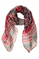 Spun by Subtle Luxury Native Scarf Red