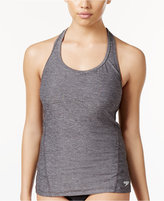 Speedo Power Pulse Heathered Tankini Top