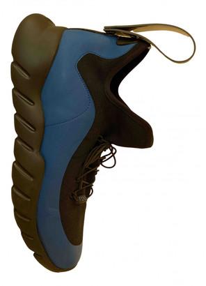 Fendi Blue Plastic Trainers