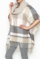 Fraas Cowl Neck Poncho