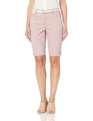 Gloria Vanderbilt Women's Joslyn Single Cuff Bermuda Short
