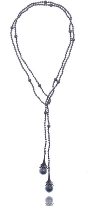 MCL by Matthew Campbell Laurenza Multi-Pearl & Hematite Beaded Necklace