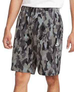 Nike Men's Camouflage Fleece Shorts