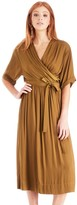 Sole Society Mid Length Wrap Dress