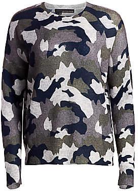 360 Cashmere Women's Cashmere Camo Sweater