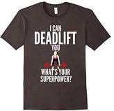 Men's I Can Deadlift You Fitness Gym T-Shirt Small